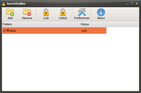 برنامج حماية وإخفاء المجلدات بكلمة سر SecretFolder 5.1